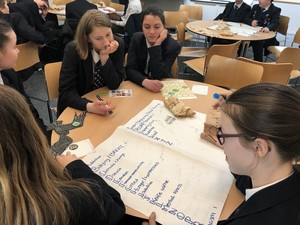 St Mary Magdalene Academy Islington World Book Day 2019 student workshop