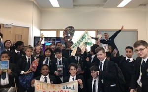 St Mary Magdalene Academy Islington World Book Day 2019 students at workshop