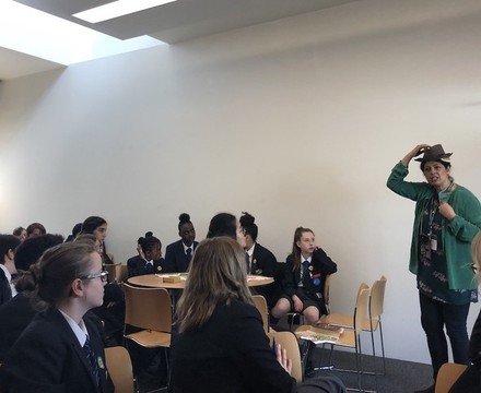 St Mary Magdalene Academy Islington World Book Day 2019 writing workshop