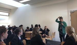 St Mary Magdalene Academy Islington World Book Day 2019 writing workshop