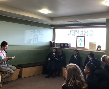 St Mary Magdalene Academy Islington World Book Day 2019 staff read favourite stories