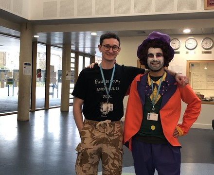 St Mary Magdalene Academy Islington: World Book Day staff in costume