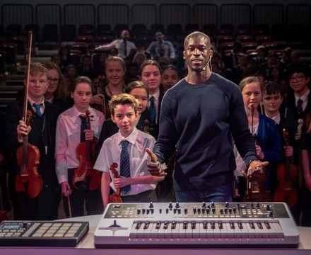 St mary magdalene academy islington music masterclass with composer okiem