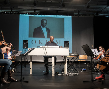 St mary magdalene academy islington music masterclass with composer okiem 8