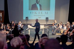 St mary magdalene academy islington music masterclass with composer okiem 10
