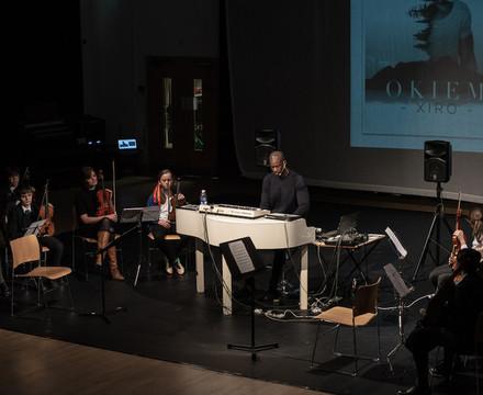 St mary magdalene academy islington music masterclass with composer okiem 27