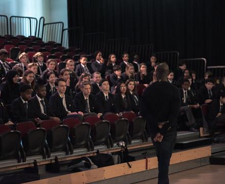 St mary magdalene academy islington music masterclass with composer okiem 29