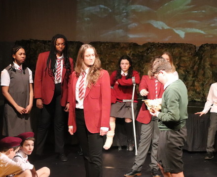 St mary magdalene academy islington lord of the flies drama production 2