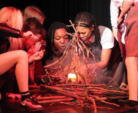 St mary magdalene academy islington lord of the flies drama production 4
