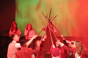 St mary magdalene academy islington lord of the flies drama production 5