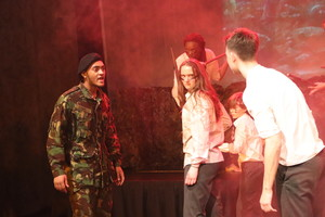 St mary magdalene academy islington lord of the flies drama production 9