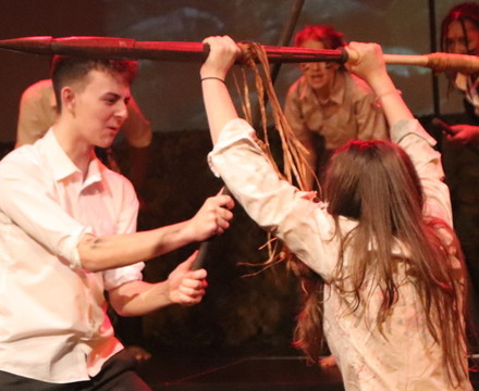 St mary magdalene academy islington lord of the flies drama production 10