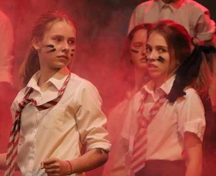 St mary magdalene academy islington lord of the flies drama production 11
