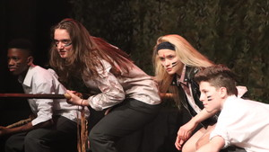 St mary magdalene academy islington lord of the flies drama production 12