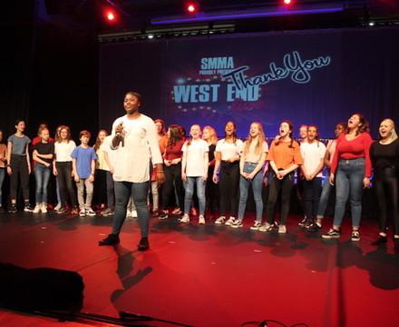 St Mary Magdalene Academy Islington, Drama Production   West End Live! 15