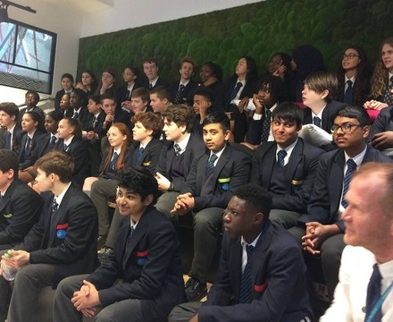 St mary magdalene academy business studies students create a social media marketing campaign for three uk
