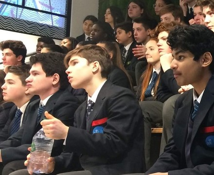 St mary magdalene academy islington business studies students create a marketing campaign for three uk