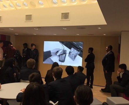 St mary magdalene academy islington business studies students pitch their marketing campaign ideas to three uk
