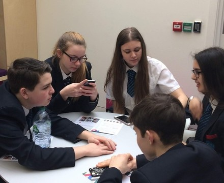 St mary magdalene academy islington year 10 business studies students create a marketing campaign for three uk
