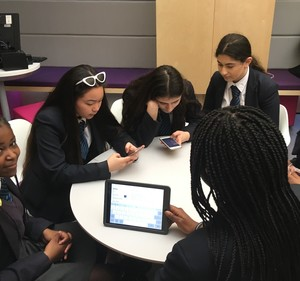 St mary magdalene academy business studies students creating a marketing campaign for three uk