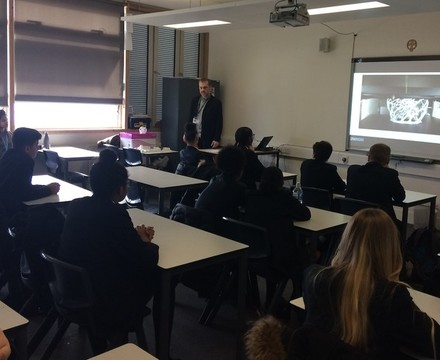 St mary magdalene academy islington year 9 careers day learning about a wide range of different job options