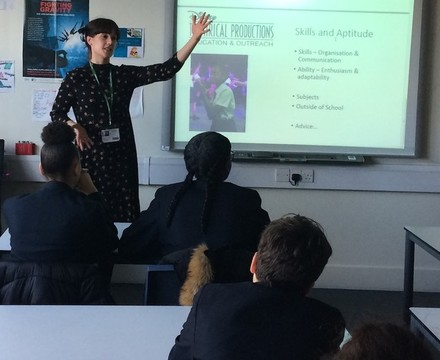 St mary magdalene academy islington year 9 careers day students hear from adults working in a wide range of jobs