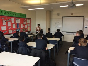 St mary magdalene academy islington year 9 learn about a wide range of jobs on careers day