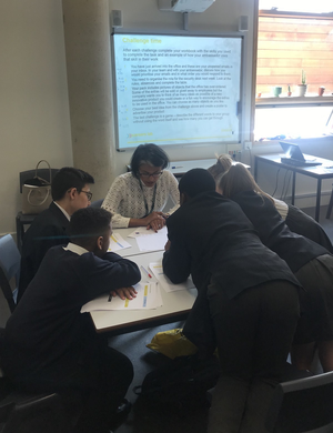 St mary magdalene academy islington year 7 students at business in the community careers workshop