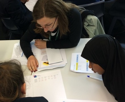 St mary magdalene academy islington year 7 students explore their skills at a careers workshop