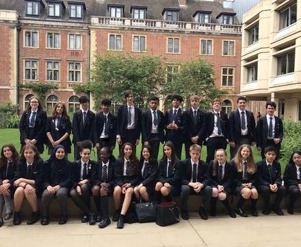 St mary magdalene academy islington london year 10 students visit st peters college oxford university june 2019