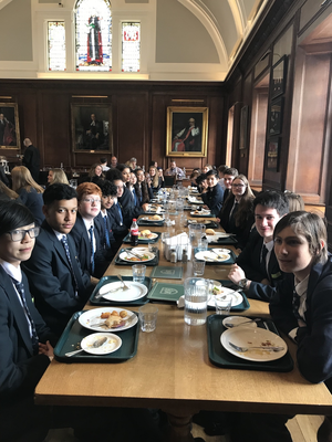 St mary magdalene academy islington year 10 students dine at st peters college oxford university june 2019