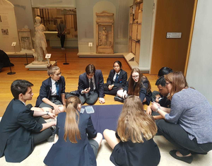 St mary magdalene academy islington year 10 students in a workshop at st peters college oxford university june 2019