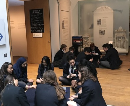 St mary magdalene academy islington year 10 students take part in a workshop at st peters college oxford university june 2019