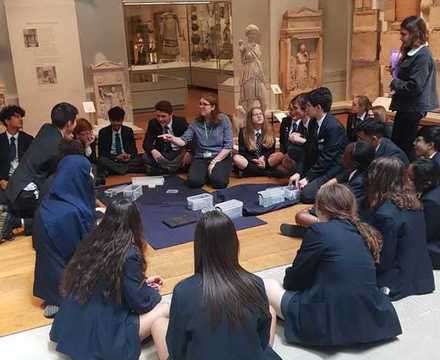 St mary magdalene academy islington year 10 students visit st peters college oxford university june 2019