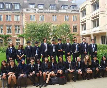 St mary magdalene academy islington year 10 students visiting st peters college oxford university june 2019
