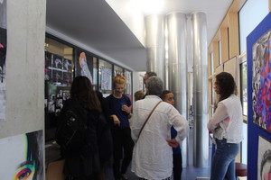 St mary magdalene academy islington guests enjoy gcse art private view