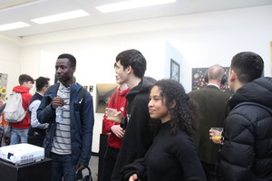 St mary magdalene academy islington a level art private view visitors