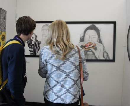 St mary magdalene academy islington a level art private view looking