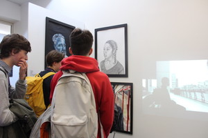 St mary magdalene academy islington a level art private view video installation