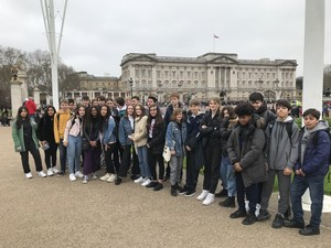 St mary magdalene academy school islington french language students and swiss exchange students 2019