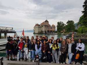 St mary magdalene academy school islington french language students on an exchange trip to geneva