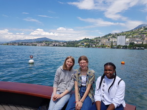 St mary magdalene academy school islington year 9 and year 10 language students go on an exchange to geneva