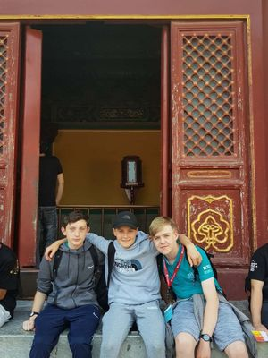 St mary magdalene academy secondary school islington mandarin students trip to china july 2019 by doors
