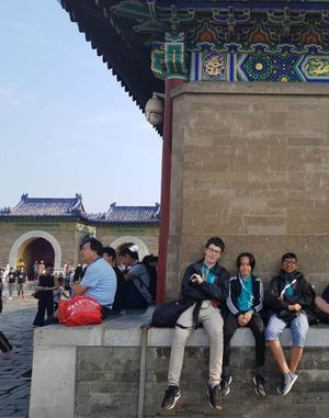 St mary magdalene academy secondary school islington mandarin students trip to china july 2019 downtime