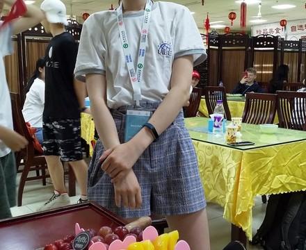 St mary magdalene academy secondary school islington mandarin students trip to china july 2019 student celebrates birthday