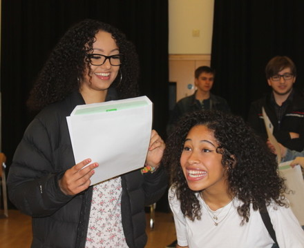 St mary magdalene academy smma sixth form islington students celebrate at a level results day 2019