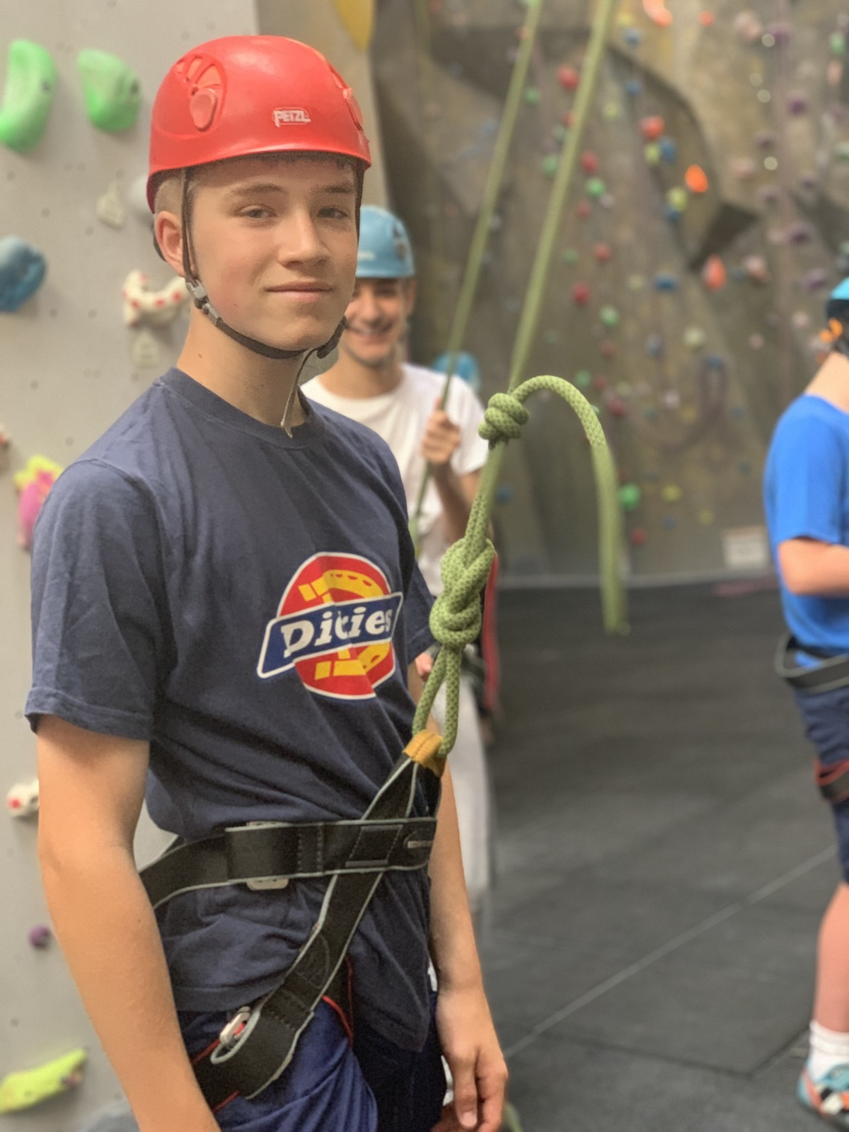 Smma st mary magdalene academy islington london summer activities week 2019 climbing course