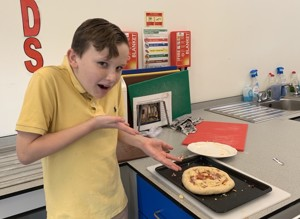 St mary magdalene academy london islington student in summer cookery course