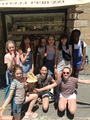 St mary magdalene academy london islington students in florence trip 1