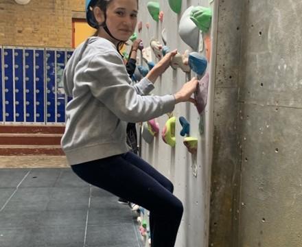 St mary magdalene academy london student enjoying climbing course summer 2019